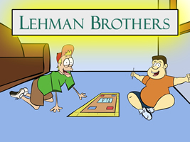 Wallstreet, Economy, Shares, Stock, Board game, Lehman, AIG, DOW, Nasdaq
